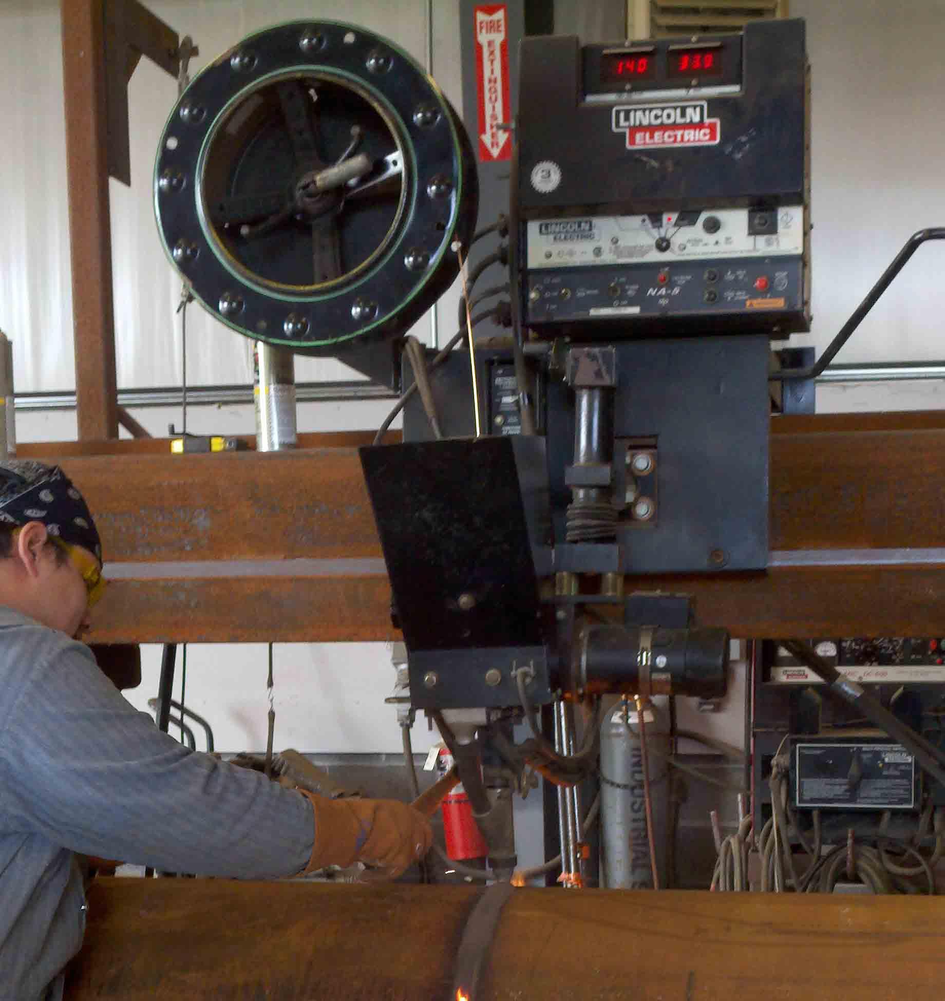 Welding Fume Assessment Industrial Hygiene In Construction