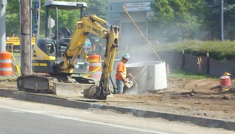 road work | Industrial Hygiene in Construction