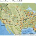 map of falls