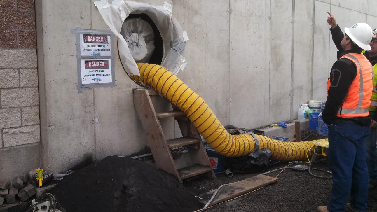 Confined Space Ventilation : Industrial hygiene in construction the practice of